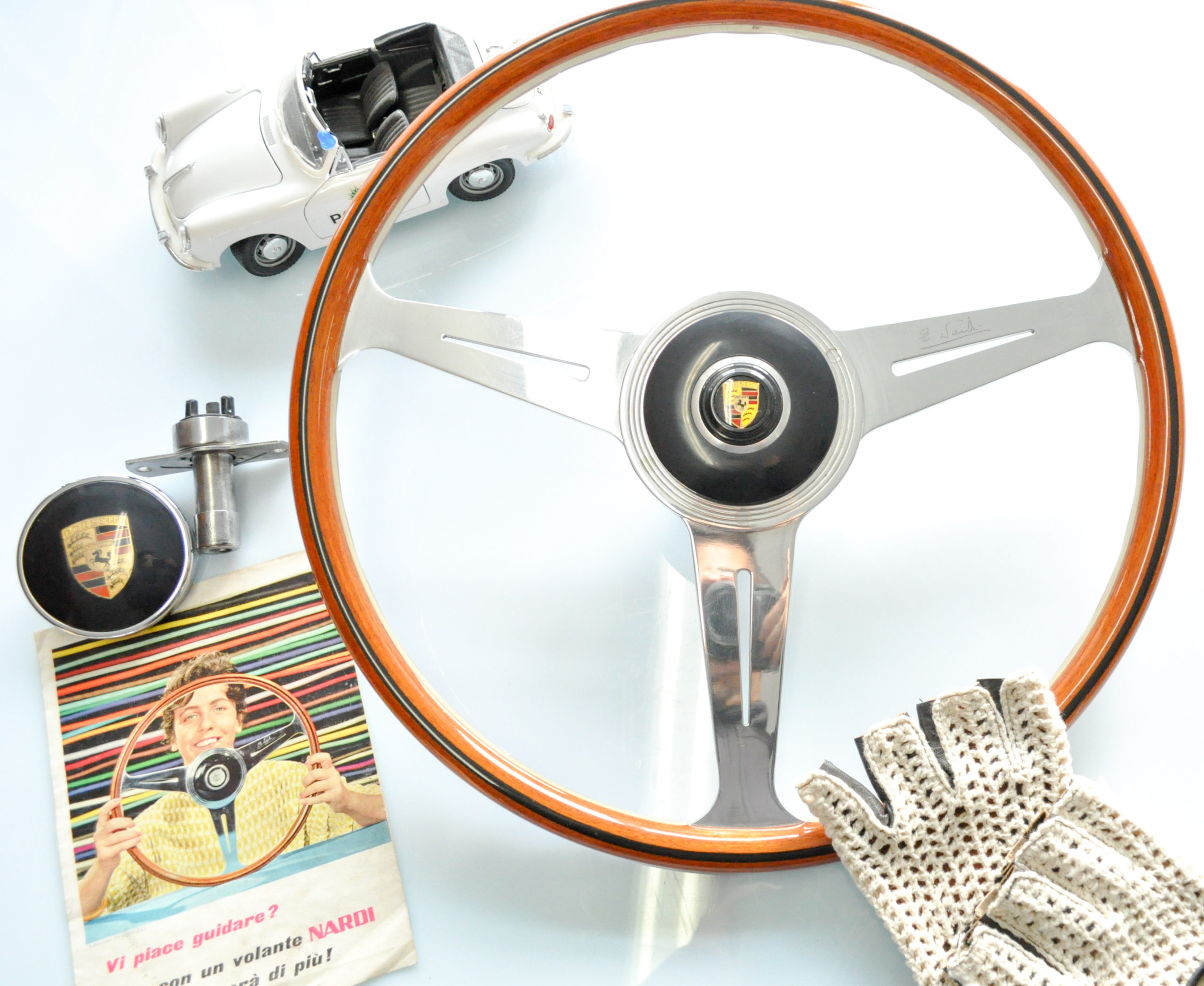 Volante NARDI 356-A per vers. SPEEDSTER e CARRERA